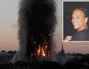 Xả nước ngập phòng, cứu cả nhà thoát chết trong vụ cháy ở London
