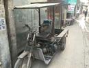 Chạy xe ba gác trong làng nghề, lương tháng ngang giám đốc