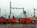 Huy động tổng lực dập đám cháy lớn tại trạm biến áp 110KV