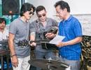 Chế Linh căng thẳng khi tập nhạc với con trai của vợ cả và vợ ba