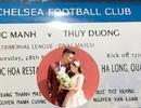 Cặp đôi fans Chelsea thiết kế thiệp cưới như vé xem bóng đá