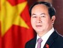 Chủ tịch nước Trần Đại Quang gửi điện cảm ơn Bí thư, Chủ tịch Trung Quốc