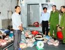 Thu giữ 700kg bì lợn đang phân hủy tại cơ sở sản xuất giò, dăm bông