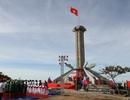 Khánh thành cột cờ Tổ quốc trên hòn đảo 2 lần được phong Anh hùng