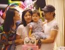 Chương Tử Di khoe ảnh gia đình hạnh phúc trong ngày sinh nhật con