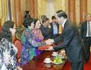 Chủ tịch nước xúc động gặp mặt các cựu cán bộ Điệp báo An ninh T4