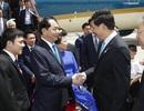 Chủ tịch nước Trần Đại Quang và Phu nhân đã đến Bắc Kinh
