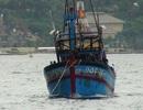 Lai dắt tàu cá cùng 6 ngư dân bị nạn ở Trường Sa về Nha Trang