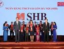 SHB lần thứ 9 liên tiếp được vinh danh Thương hiệu Mạnh Việt Nam