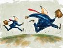 """Giới đầu tư bất ngờ bán tháo, VN-Index bị """"thổi bay""""  gần 7 điểm"""