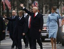 Diễu hành hộ tống tân Tổng thống Trump về Nhà Trắng