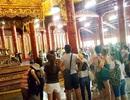 Di chuyển Ngai vàng triều Nguyễn để sửa điện Thái Hòa