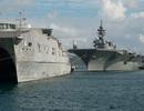 Tàu vận tải Mỹ tham gia chương trình Đối tác Thái Bình Dương tại Khánh Hòa