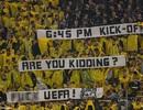 Cầu thủ Dortmund bực tức vì bị UEFA đối xử tệ hại