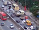 Đề xuất hạ tốc độ tối đa tại đường trên cao Hà Nội