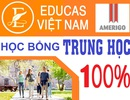 Thư mời phỏng vấn học bổng 100% trung học nội trú Mỹ