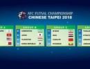 Đội tuyển futsal Việt Nam rơi vào bảng dễ thở tại VCK futsal châu Á 2018