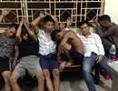 Tạm giữ 6 thanh niên đập phá, gây rối tại trụ sở công an phường
