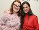 Demi Moore trẻ trung tái xuất