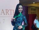Hà Thu giành huy chương đồng phần thi tài năng tại Hoa hậu Trái đất