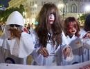 """Halloween trên phố Bùi Viện: """"Phim trường kinh dị phong cách Việt!"""""""