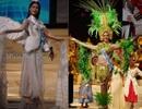 Ngắm người đẹp Hoa hậu quốc tế khoe sắc trong trang phục dân tộc