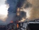 Cháy cực lớn công ty may, 10 tỷ đồng ra tro