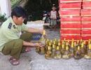 Bắt giữ xe chở mỹ phẩm, rượu rắn lớn không rõ nguồn gốc