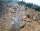 500 hộ dân bị cô lập gần 1 tháng vì sạt lở núi