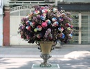 Thị trường hoa tươi dịp 20/10: Một giỏ hoa có giá 30-40 triệu đồng