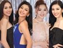 Top 45 Hoa hậu Hoàn vũ Việt đọ vẻ nóng bỏng sau lớp rèm