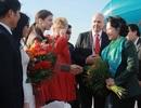 Kiều bào chào đón Chủ tịch Quốc hội Nguyễn Thị Kim Ngân thăm Hungary