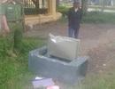 Trộm lẻn vào Huyện ủy khiêng két sắt ra ngoài đập lấy gần 50 triệu