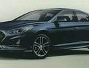 Hyundai Sonata phiên bản nâng cấp dần lộ diện