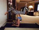 Choáng với khả năng biểu diễn yoga của Britney