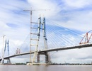 Ngày mai hợp long cầu dây văng dài nhất Đồng bằng sông Cửu Long