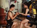 """Ảnh cưới độc đáo của cặp đôi dáng """"chuẩn"""" mê tập gym"""