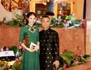 Chí Anh đưa vợ kém 20 tuổi đi sự kiện khi vừa sinh con đầu lòng