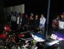 Hàng chục cảnh sát truy bắt nhóm đối tượng đua xe trái phép