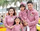 Những khoảnh khắc đẹp của Bình Minh bên gia đình ngày Xuân