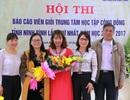 Ninh Bình: Sôi nổi hội thi báo cáo viên giỏi Trung tâm học tập cộng đồng