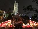 Nghĩa trang liệt sĩ lung linh trong đêm thắp nến tri ân