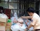 Gần nửa tấn mỡ động vật không rõ nguồn gốc được chở đi Hà Nội tiêu thụ