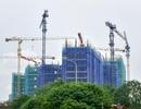 Nguy hiểm rình rập từ cẩu tháp công trình khắp Hà Nội