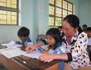 Tình nguyện dạy thêm cho học sinh vùng cao