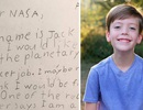 Cảm động cách NASA trả lời thư xin việc của bé trai 9 tuổi