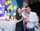 Vợ chồng Jennifer Phạm tổ chức thôi nôi sớm cho con trai út