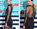 Siêu mẫu cao 1,85m diện váy xuyên thấu táo bạo