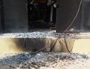 Căn nhà bị kẻ gian tẩm xăng đốt cháy trong đêm