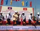 Khởi công cây cầu hữu nghị nối thông Việt - Lào